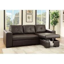 Modular Living Room Furniture Esofastore Modular Convertible Sectional Set Sofa W Pull Out Bed
