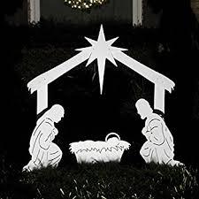 outdoor nativity teak isle outdoor nativity holy family yard
