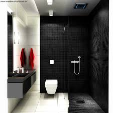 accessories appealing black white and red bathroom decorating