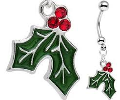 where to buy mistletoe mistletoe dangle belly ring buy this bling