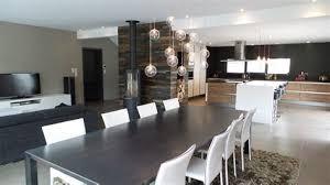 cuisine salon salle à manger charming miroir de salle a manger 1 roomtour decoration salon