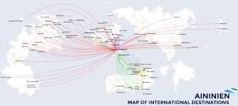 Star Alliance Route Map Nationstates U2022 View Topic Your Nations Largest Airline