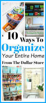 Organizing Store Ways To Organize Your Entire Home From The Dollar Store
