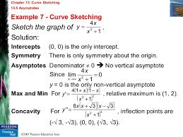 chapter 13 curve sketching