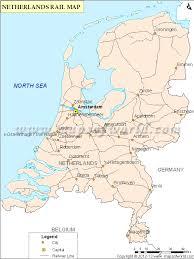 netherlands map cities netherlands rail map railway map of netherlands