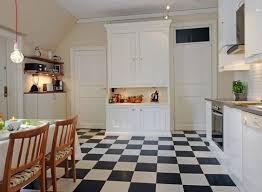 cuisine blanche sol noir lino noir et blanc damier beautiful cuisine carrelage