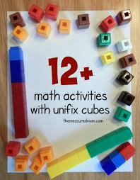 math activities with unifix cubes the measured mom