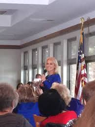 Nj Flags Half Staff Kellyanne Conway Returns To New Jersey For A Briefing With Morris