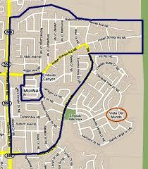 Albuquerque Map Albuquerque U0027s Neighborhood Drive By U2013embudo Canyon