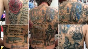 Robert Burns Halloween Poem Robert Burns Fan Makes His Mark With Tattoo Tribute To The Bard
