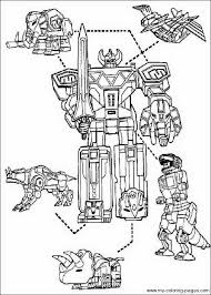 free coloring pages power rangers jungle fury 8169