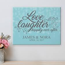 Custom Burlap Art Print Love - wedding wall d礬cor mr mrs wall d礬cor wedding canvases