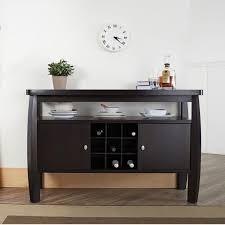 the brilliant wine rack buffet table regarding house prepare