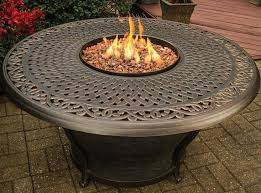 Gas Firepit Table Tk Classics Charleston Aluminum Gas Pit Table Reviews Wayfair