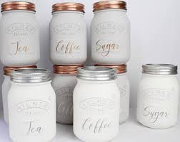 kitchen tea coffee sugar canisters grey kitchen set of 3 tea coffee and sugar canisters