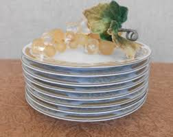 Glass Buffet Plates by Replacement Plates Etsy