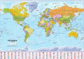 World Wall Map by World Political Wall Map Medium Size Xyz Maps