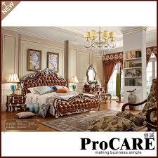 chambre de luxe design morden style européen roi lit avec un design de luxe chambre
