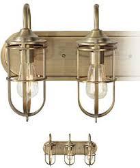 Amusing Brass Bathroom Light Fixtures Wonderful Decor For Interior 5 Antique Brass Bathroom Light Fixtures