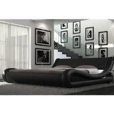 Milan Bed Frame Alpha Furniture Italian Bed Frame Black 4 6
