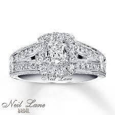 Neil Lane Wedding Rings by Kay Neil Lane Bridal Ring 1 1 5 Ct Tw Diamonds 14k White Gold