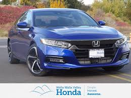 new 2018 honda accord sport 4d sedan near walla walla wja001958