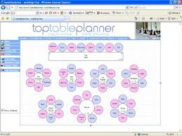 Free Wedding Seating Chart Template Excel Wedding Reception Seating Chart Template Tables