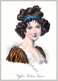 empire hairstyles album of historical hairstyles album de coiffures histories par e