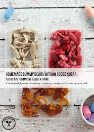 make your own gummy bears gummy bears with no added sugar plus 10 tips for