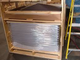 slat crates plywood crates mei rigging u0026 crating