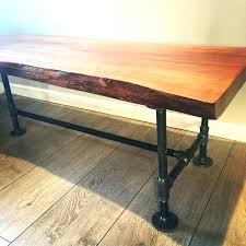 wood slab coffee table diy wood slab coffee table diy simple wood slab coffee table twip me