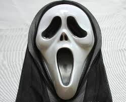 Halloween Costumes Scream Mask Plastic Scream Mask Partyhouse Wholesale Party Supplies