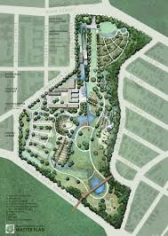 Chicago Botanic Garden Map by I Chose This Masterplan Of The Three Published Projects Because It