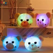 led light up toys wholesale 2018 wholesale glowing luminous led light up toys bear stuffed plush