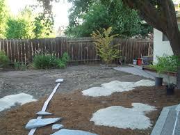 backyard ideas no grass pertaining to the house skillzmatic com