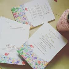 paper invitations custom printing on seeded paper for wedding party invitations
