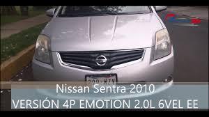 sentra nissan 2010 nissan sentra 2010 emotion manual youtube