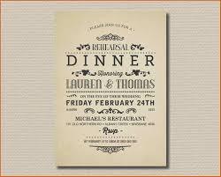 birthday dinner invitation resume name