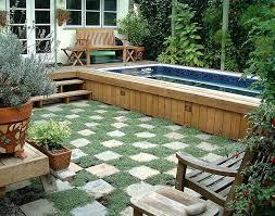 Small Backyard Inground Pool Design by Small Swimming Pool Design Plans Swimming Pool Small Garden Uk