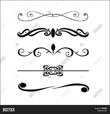 abstract vector design elements borders frames stock photo haammss