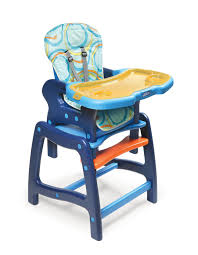 Best Activity Table For Babies by Badger Basket Envee Baby High Chair With Playtable Conversion