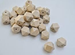 free shipping 100pcs lot 20mm unfinished geometric wood