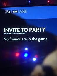 ps4 game invite no friends are in the game