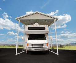 Enclosed Car Canopy by Vinyl Enclosure Kit Premium Steel Canopy And Carport