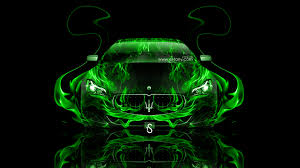 maserati green maserati quattroporte fire abstract car 2014 el tony