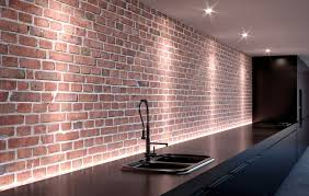 cuisine en brique nettoyer les murs en briques dans une cuisine les astucieux