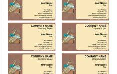 free business card template for word danielpinchbeck net