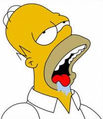 Mouth Watering Meme - homer simpson drooling blank template imgflip