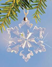 10691 swarovski snowflake ornament alpenlandstore