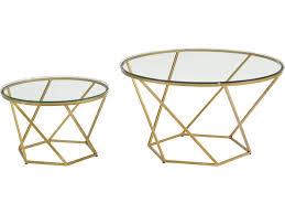 glass nesting coffee tables geometric glass nesting coffee tables af28clrgggd